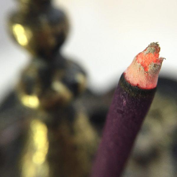 """TS-""""Specially Made for Paro Kushoo HRH Prince Namgyal Wangchuk"""" Incense burning"""